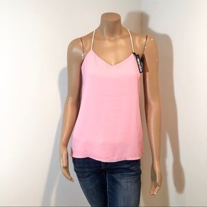 NWT EXPRESS REVERSIBLE PINK TOP